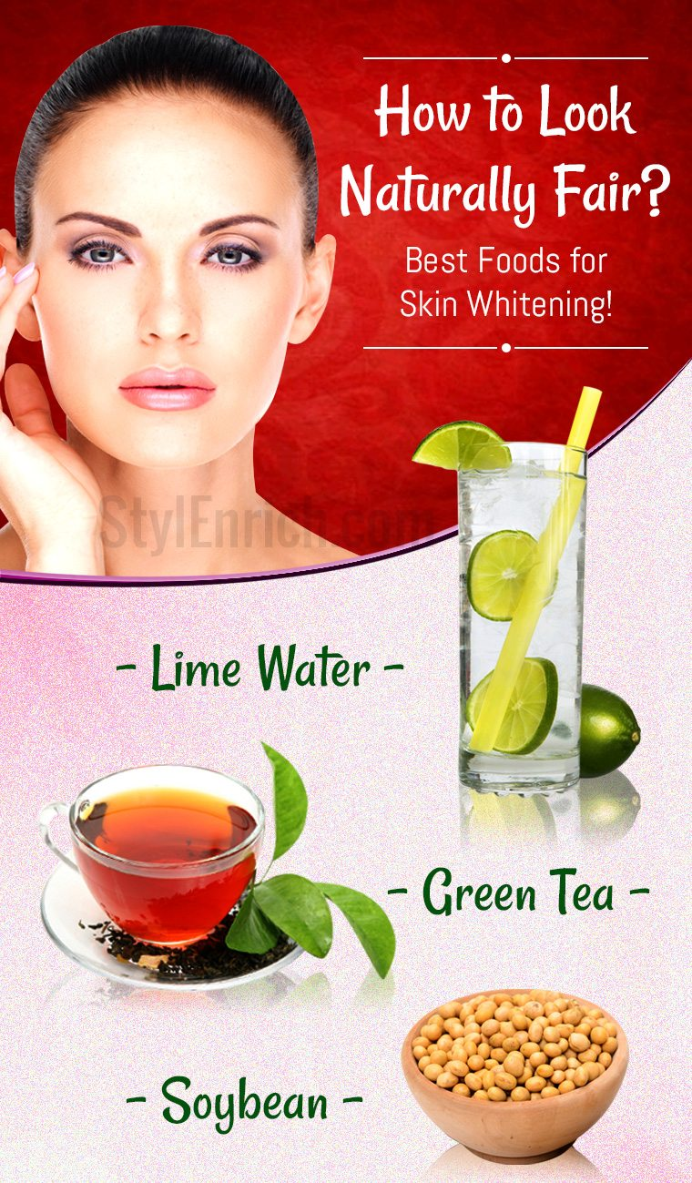 How to whiten skin naturally
