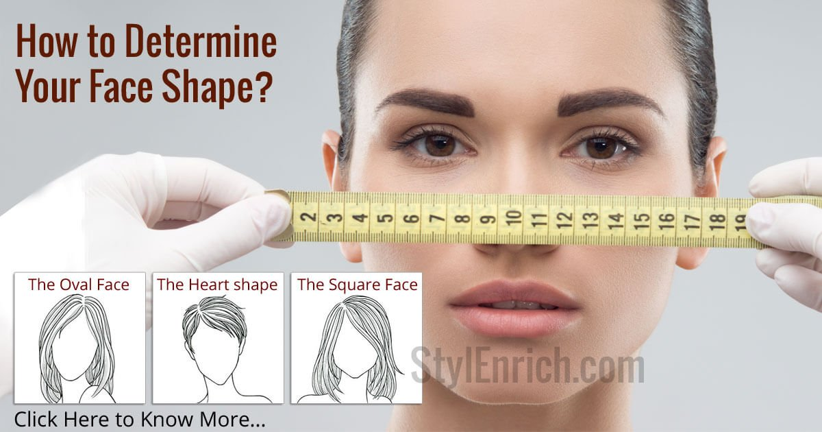 How To Determine Your Face Shape Face Shape Types And Hairstyles