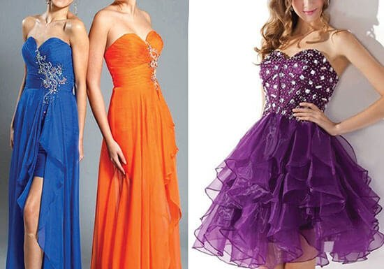 Prom Dresses for Different Body Types