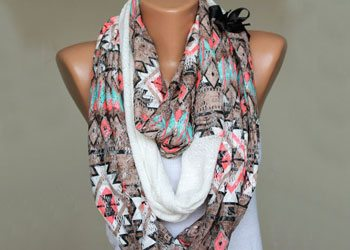 Scarves for plus size women
