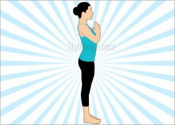 Step 12-Tadasana Yoga