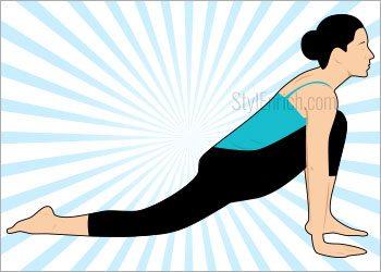 Step 9-Ashwa Sanchalanasana