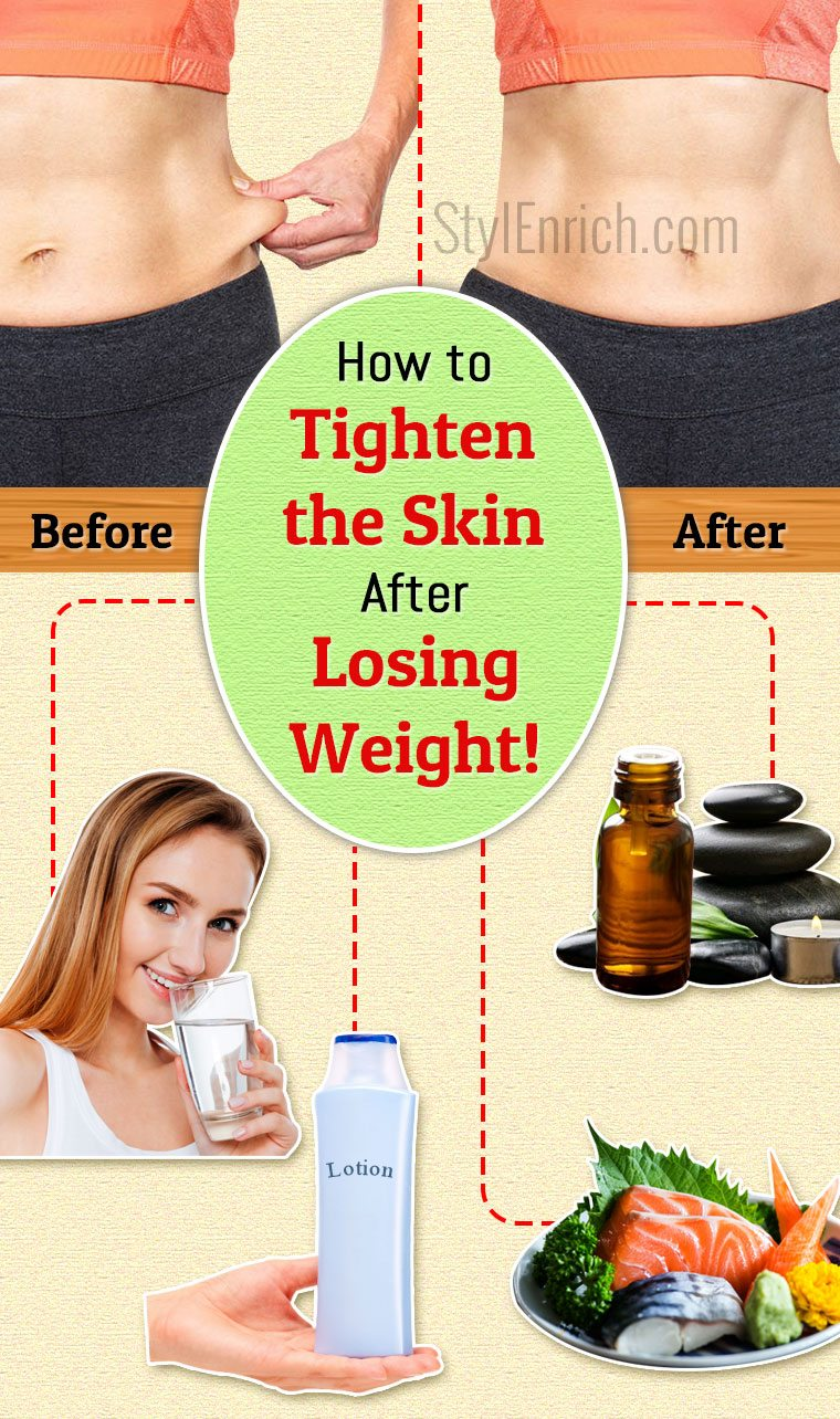 How to tighten skin after losing weight