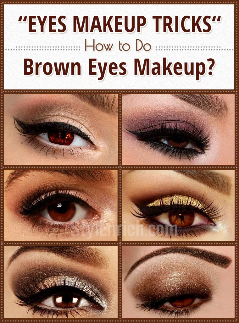 How do eyes makeup