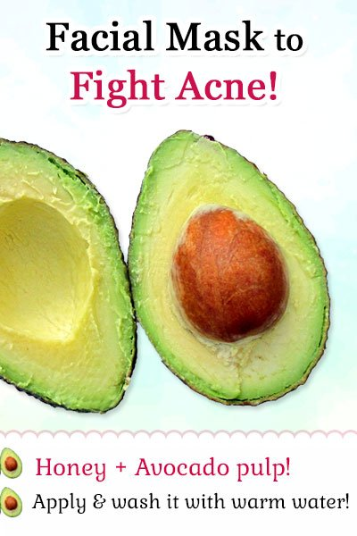 Avocado Facial Mask to Fight Acne and Pimples