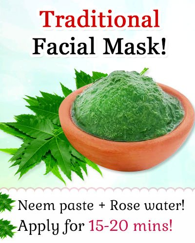 Neem for Homemade Face Pack for Acne-prone Skin