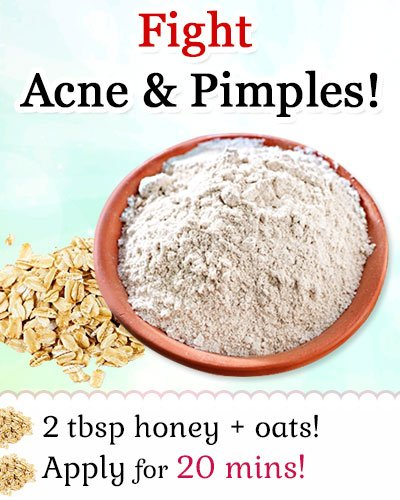 Oatmeal for Fighting Acne and Pimples