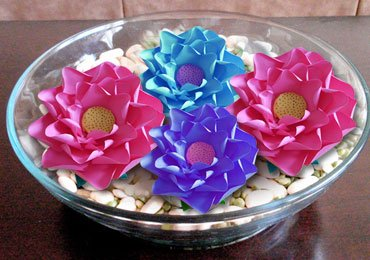 DIY Crafts : How to Make Paper Flowers?