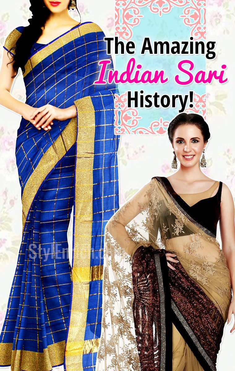 Amazing Indian Sari History