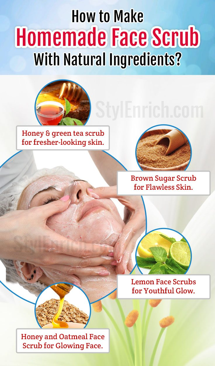 Diy-homemade-face-scrub-with-natural-ingredients