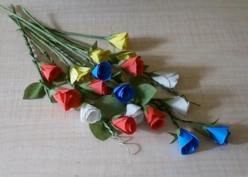 How to make paper flower wall hanging flowers healthy diy paper flower wall decor mightylinksfo
