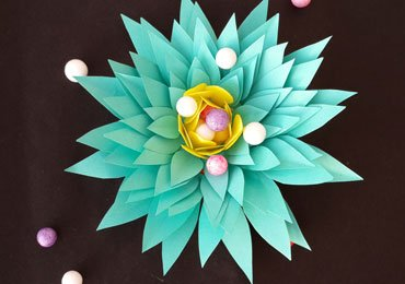Simple Paper Flowers : How to Make Beautiful Flower From Paper!