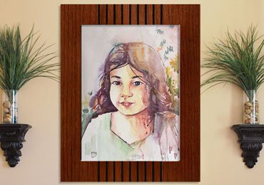 Painting Techniques : How to Make a Girl Portrait From WaterColor