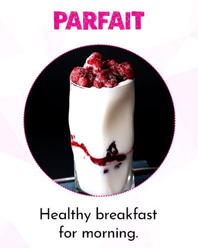 Strawberry and Yogurt Parfait for Healthy Morning
