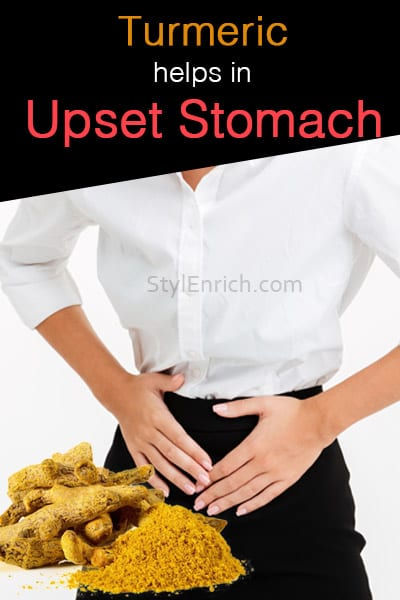 Turmeric Helps in Upset Stomach