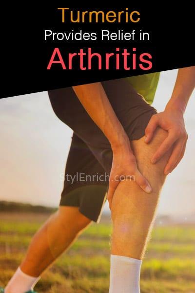 Turmeric Provides Relief in Arthritis