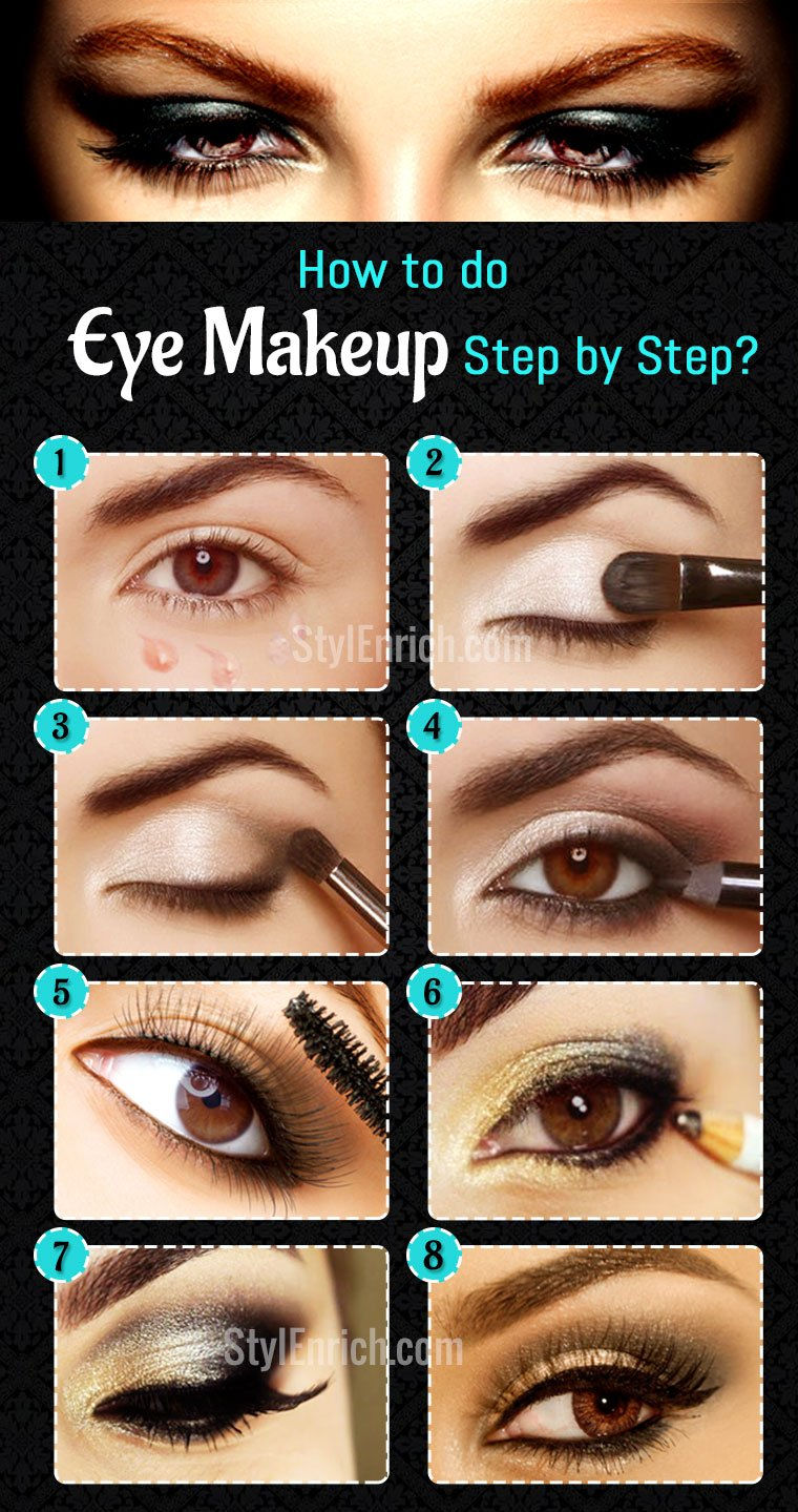 How To Do Eye Makeup An Easy Guide To Learn Eye Makeup