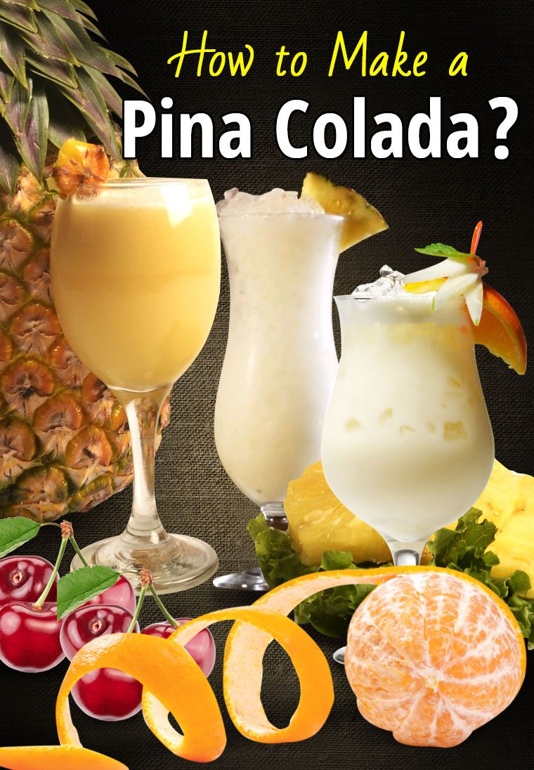 Pina colada recipes