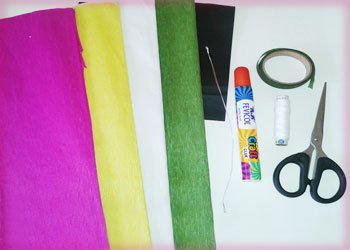 Material-required-for-paper-art-craft
