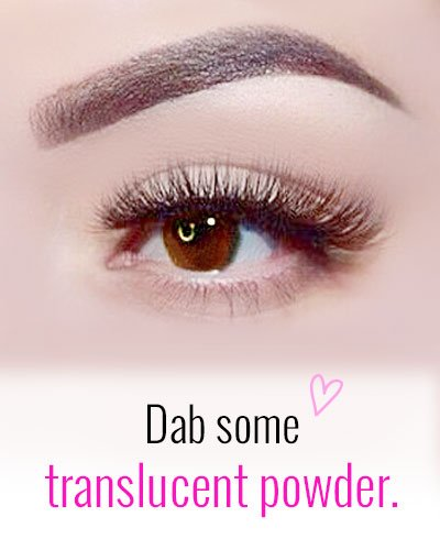 Translucent Powder For Eyebrows