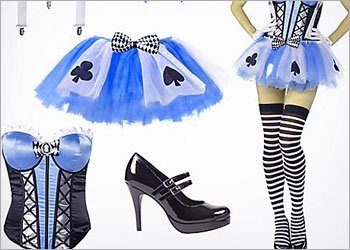 Alice in Wonderland Look!