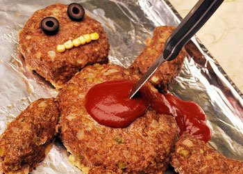 Halloween Dead Man Meatloaf
