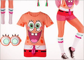 The SpongeBob Look