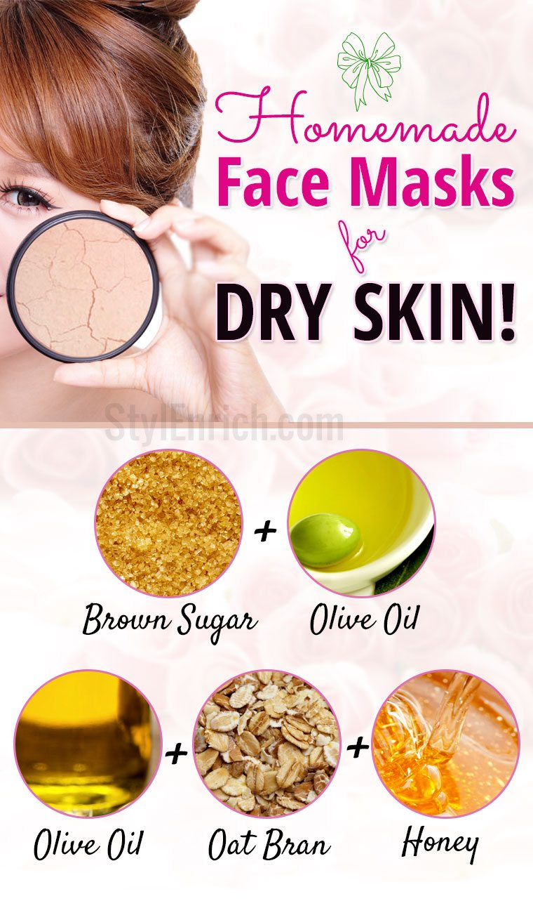 home ingredients for face mask