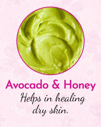 Avocado and Honey Face Mask for Dry Skin