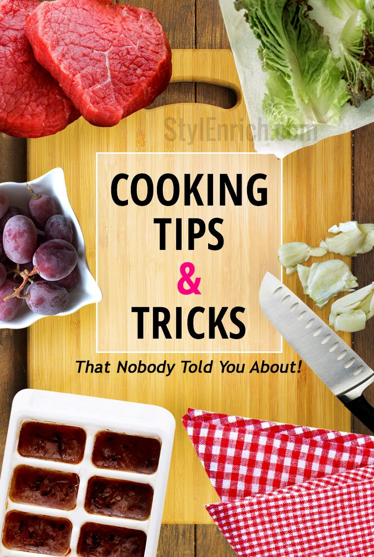 Easy Cooking Tips and Tricks!