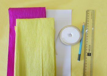 Easy Kids Crafts Ideas To Make A Crepe Paper Doll Dress