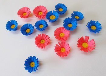 Easy colorful paper craft