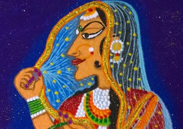 Sheetal Sarate Featured Rangoli