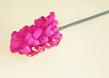 How to make easy hyacinth paper flower