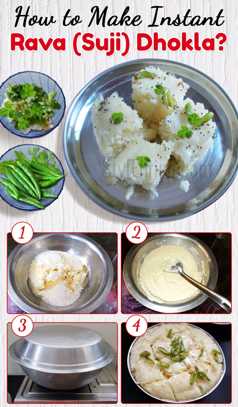 How to Make Instant Rava Dhokla?