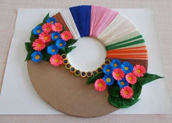 Wall Decor Ideas Easy Paper Craft Using Best Out Of