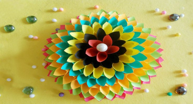Wall decoration ideas paper craft
