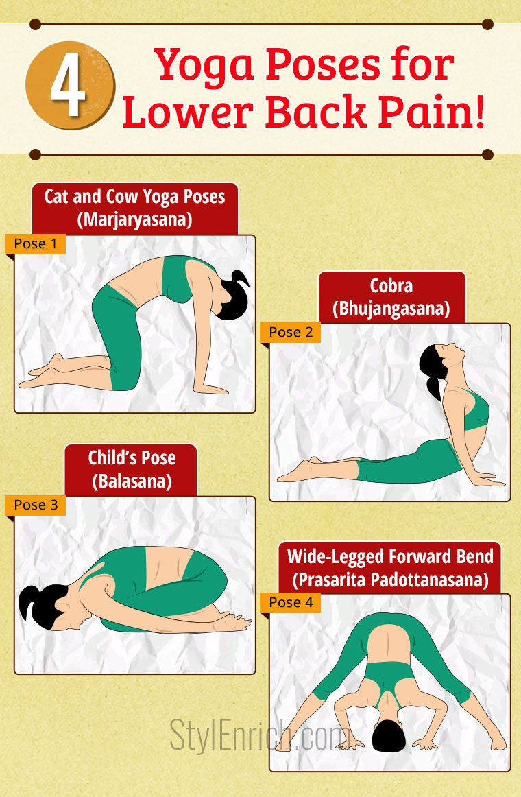 Easy Yoga Poses for Lower Back Pain That You Must Try!
