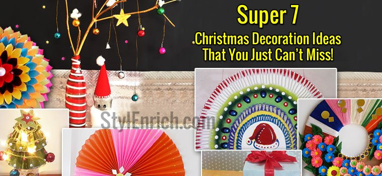 Christmas Crafts Decoration Ideas