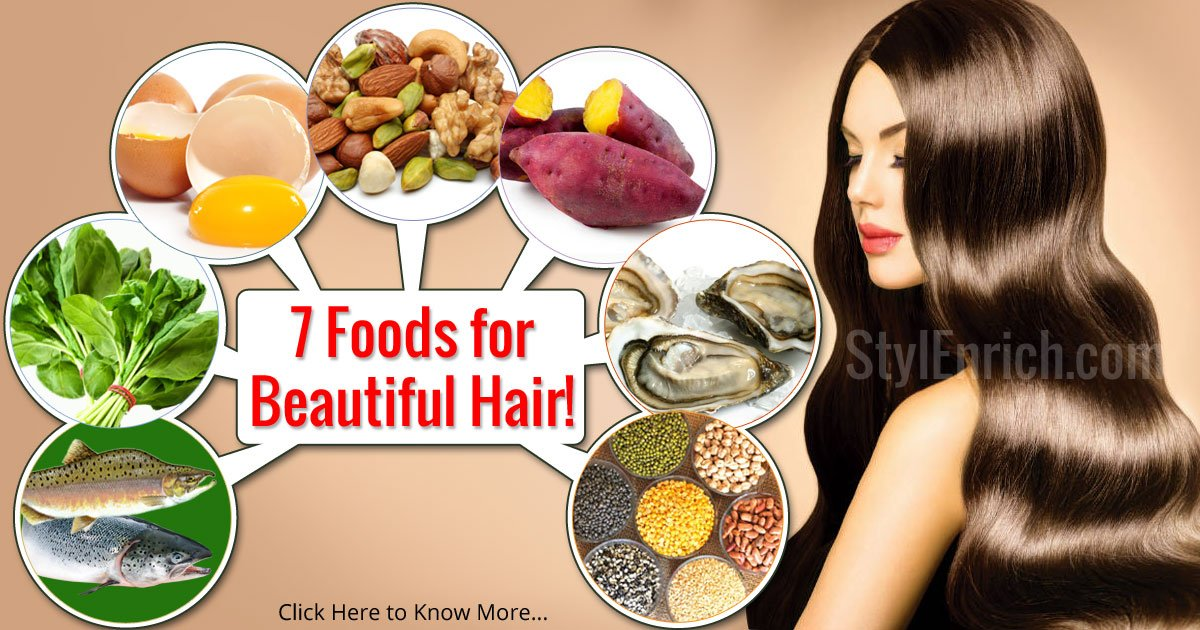 How to Get Healthy Hair : 7 Foods For Beautiful and ...