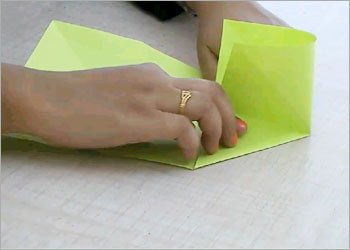How to make diy origami frog