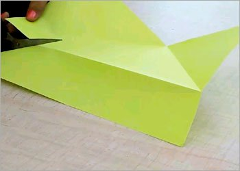 Origami frog for kids