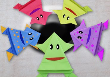 How to Make an Easy Origami Frog For Kids?