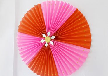 Christmas Craft Ideas : How to Make Super Easy DIY Paper Rosette | DIY Projects