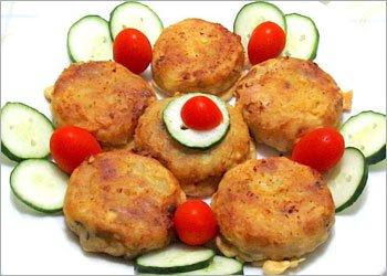 Vegetable Rice Cutlet