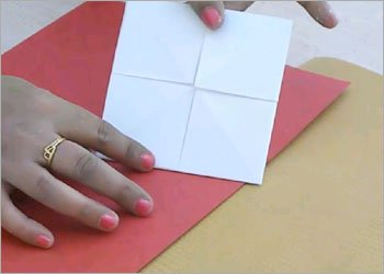 Origami fortune teller for kids
