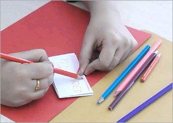 Origami fortune teller kids craft