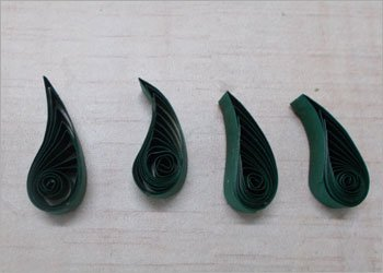 Flower Leaves Quilling