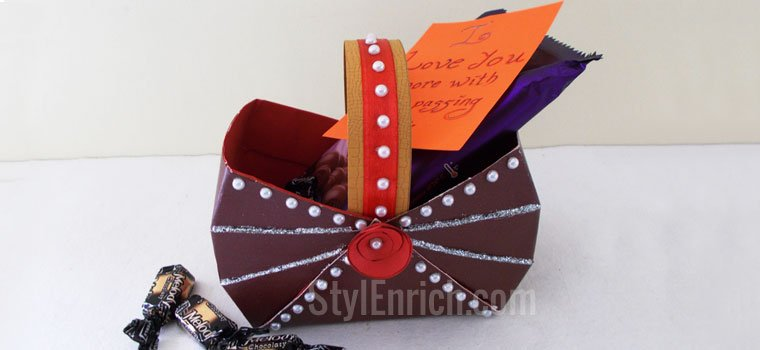handmade gift ideas - diy paper box