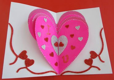 Valentines Day Cards : How to Make Your Own Valentines Card?